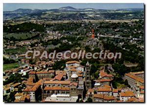 Modern Postcard Le Puy Holy City City Art