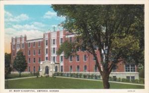 Kansas Emporia St Mary's Hospital Curteich