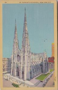 New York City St Patrick's Cathedral 1946 Curteich