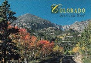 Bear Lake Road Rocky Mountain National Park Colorado