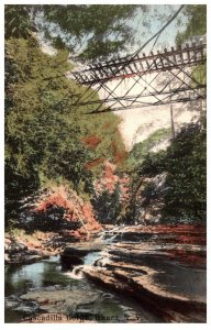 New York Ithaca  Cascadilla Gorge