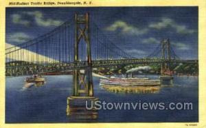 Mid-Hudson Traffic Bridge Poughkeepsie NY Unused