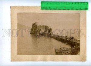 171110 MADEIRA Pier Vintage RARE REAL PHOTO