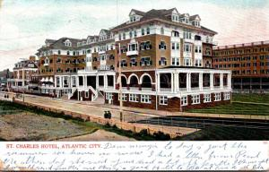 New Jersey Atlantic City St Charles Hotel 1906