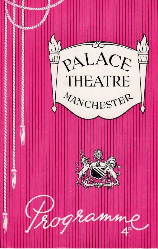 Victor Seaforth Norman Evans Xylophone 1950s Manchester Variety Theatre Progr...