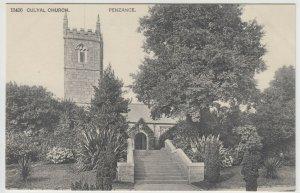 Cornwall; Gulval Church (Misspelt Culval) 15406 PPC, Unposted, c 1910's