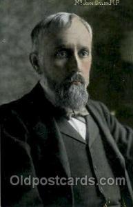 Mr. John Dillon, MP. Famous People Postcard Post Card  Mr. John Dillon, MP.