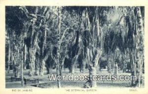 Rio De Janeiro Brazil, Brasil, Bresil Botanical Garden Rio De Janeiro Botanic...
