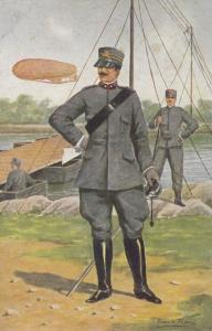 Esercito Genio Italian Italiano Soldier at Boat Military Uniform Army Postcard