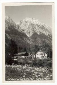 RP: Gasthof Walderbrucke,Gnadenwald,Austria 1910-20s PU