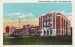 Iowa Council Bluffs Thomas Jefferson High School
