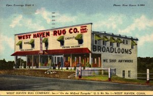 Connecticut West Haven The West Haven Rug Company 1943