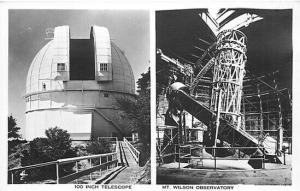 CA, Mount Wilson, California, Telescope, Observatory, Multi View, RPPC