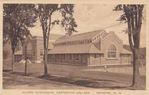 New Hampshire Hanover Alumni Gymnasium Dartmouth College  Albertype