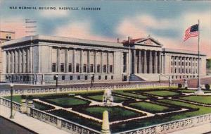 War Memorial Building Nashville Tennessee 1944