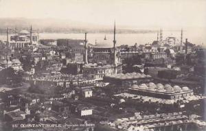 RP; Constantinople, Panorama des Bazars, Turkey , 00-10s