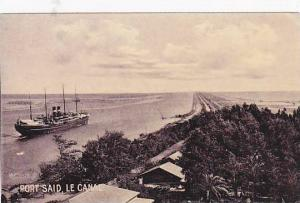 Port Said , Le Canal , EGYPT , 00-10s
