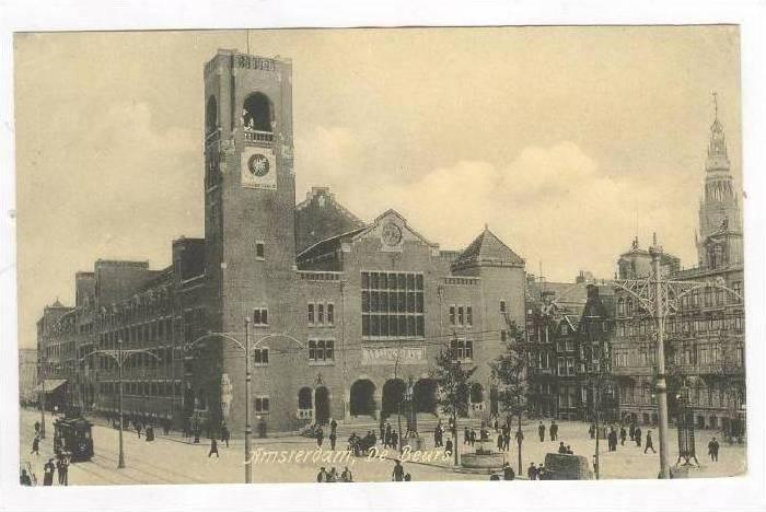 De Beurs, Amsterdam (North Holland), Netherlands, 1900-10s