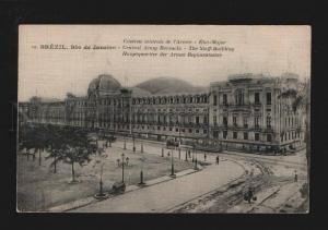 074143 BRASIL Brezil Rio de Janeiro Central Army barracks Old