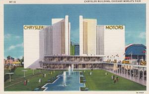 Chicago World's Fair , 1930s ; Chrysler Building