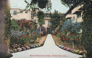 HOLLYWOOD , California , 1900-10s ; Hotel Hollywood Court