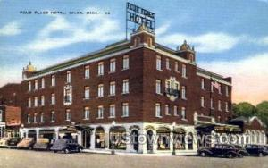 Four Flags Hotel Niles MI Unused