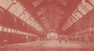 Interior, New Manufacturers & Liberal Arts Building, New York State Fair Grou...