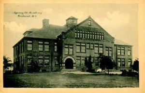Canada - Nova Scotia, Amherst. Spring Street Academy