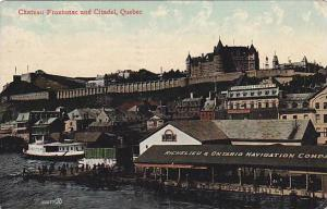 Great lakes showing Richelieu & Ontario Navigation Company, Chateau Frontenac...