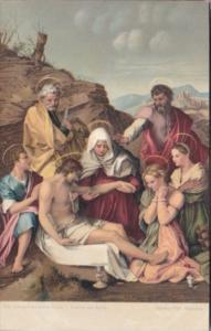 The Descent From The Cross Andrea Del Sarto Galleria Pitti Florence