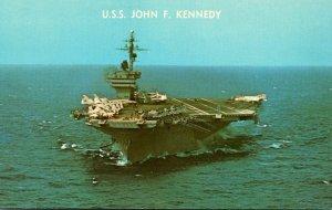 Aircraft Carrier U S S John F Kennedy