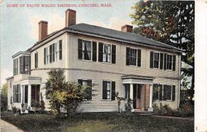 25890 MA, Concord,  1915, Home of Ralph Waldo Emerson