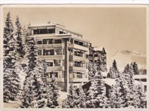 Switzerland Arosa Hotel Anita 1949 Real Photo