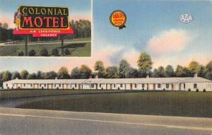 Jarratt Virginia Colonial Motel Exterior View Antique Postcard J77716
