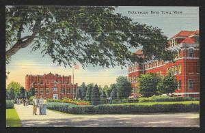 Boys Town Campus Omaha Nebraska Unused c1940s