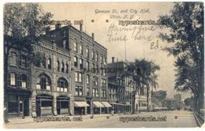 Genesee Street & City Hall, Utica NY