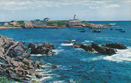 Canada Neil's Harbour Fishing Village Cape Breton Nova Scotia