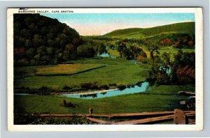 Cape Breton Nova Scotia Canada - Scenic Margaree Valley, Vintage Postcard