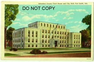 Sebastian Co Court House & City Hall, Fort Smith Ark