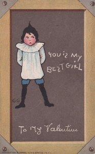 VALENTINE'S DAY, 1900-1910's; You Is My Best Girl, To My Valentine