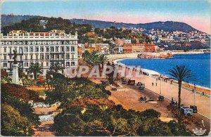 Postcard Old Nice (A M) View of the Mont Boron