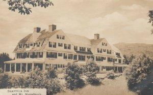 RP; NEW HAMPSHIRE, 1910s; Shattuck Inn & Mt. Monadnock