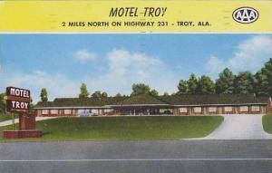 Alabama Troy Motel Troy
