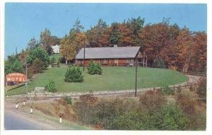 Ken Mar on the hill, Gaylord, Michigan,PU-1962
