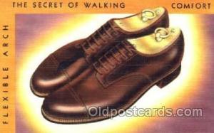 Shoe Advertising Postcard Postcards Unused