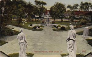 Illinois Rock Island Spencer Square 1915