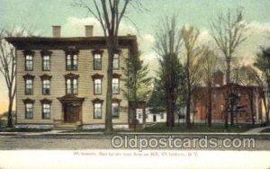 Whiteboro Sanitarium & Anchor Mill Whitesboro, NY, USA Postcard Post Cards Ol...