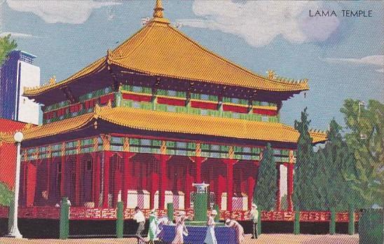 Lama Temple Century Of Progress Chicago's 1933 International Exposition