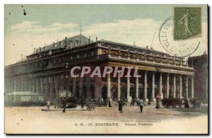 Postcard Old Bordeaux Grand Theater