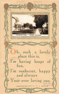 F97/ Aurora Nebraska RPPC Postcard c1910 Residence View Homes 11
